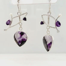 Load and play video in Gallery viewer, Chevron Amethyst