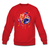 SPOD Crewneck Sweatshirt - red