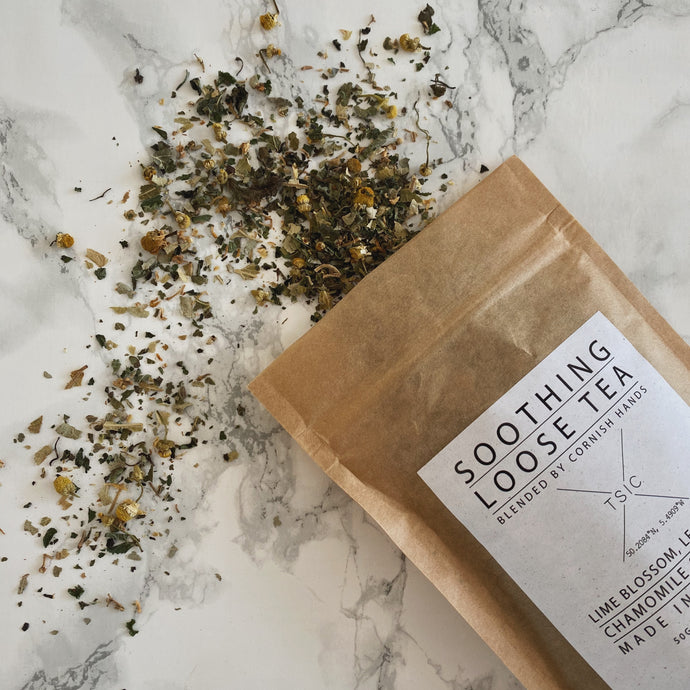 Soothing Loose Tea - The St. Ives Co. Cornwall Cornish Souvenir Holiday beach Tea Delicious small Batch Independent Quality