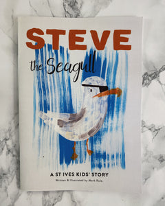 Steve the Seagull St. Ives Story Book - The St. Ives Co. Cornwall Cornish Souvenir Holiday beach