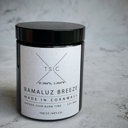 Bamaluz Breeze Scented Soy Wax Candle