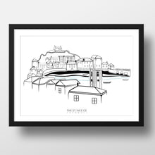 Load image into Gallery viewer, Classic St. Ives View Print - The St. Ives Co. Cornwall Cornish Souvenir Holiday beach