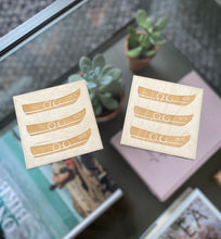 Load image into Gallery viewer, Original TSIC TR26 Boat engraved wooden Coasters // Pack of 2 - The St. Ives Co. Cornwall Cornish Souvenir Holiday beach