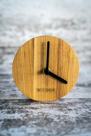 St Ives Clock & Notebook Hamper Beach Cornwall Cornish Quality Gift Notes Time Award Winning Wood Souvenir