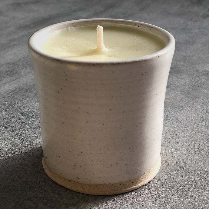 Man's Head Meadow Ceramic Beaker - The St. Ives Co. Cornwall Cornish Souvenir Holiday beach Gist Scent Beautiful Best Perfect Calm Relax Artisan Small Batch Warm Amber Jar Trendy One Of A Kind St Ives Cornwall Cornish Unique Soy Wax Smell Meditation Mood Light