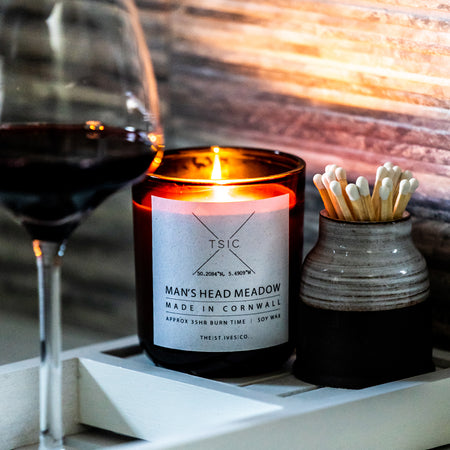 Man's Head Meadow TSIC Scented Candle