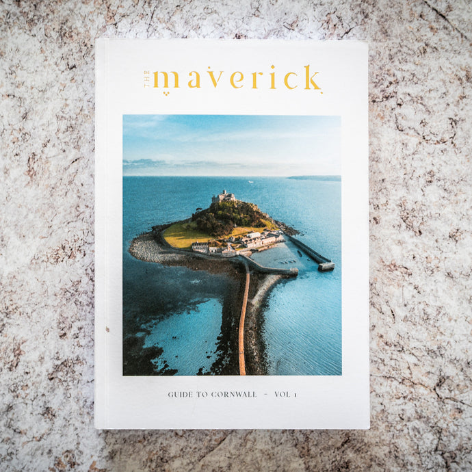 Maverick guide to Cornwall - The St. Ives Co. Cornwall Cornish Souvenir Holiday beach Original Trendy Modern Adventure Local Artist Makers Guide Cornish Tour Holiday Planning Trip