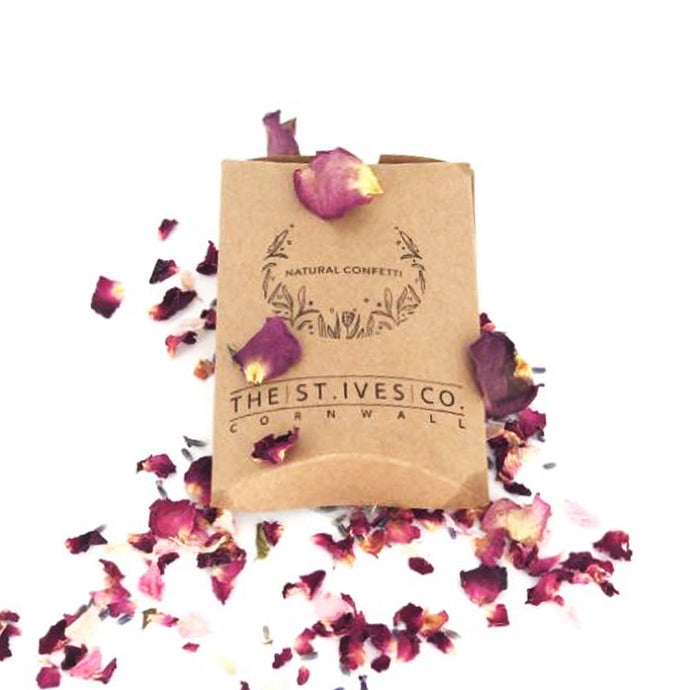 Natural Wedding Confetti//Made in St. Ives - The St. Ives Co. Cornwall Cornish Souvenir Holiday beach
