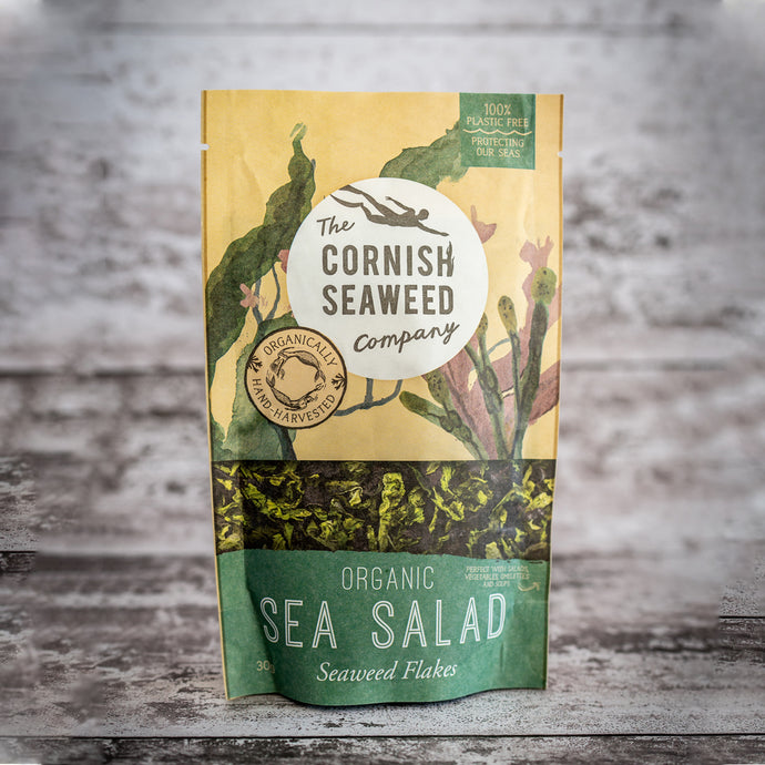 Organic Sea Salad - The St. Ives Co. Cornwall Cornish Souvenir Holiday beach Food Nutrition Health Beauty