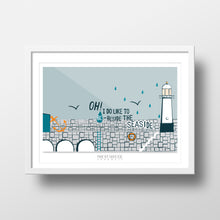 Load image into Gallery viewer, 'Oh I do' St. Ives Print - The St. Ives Co. Cornwall Cornish Souvenir Holiday beach