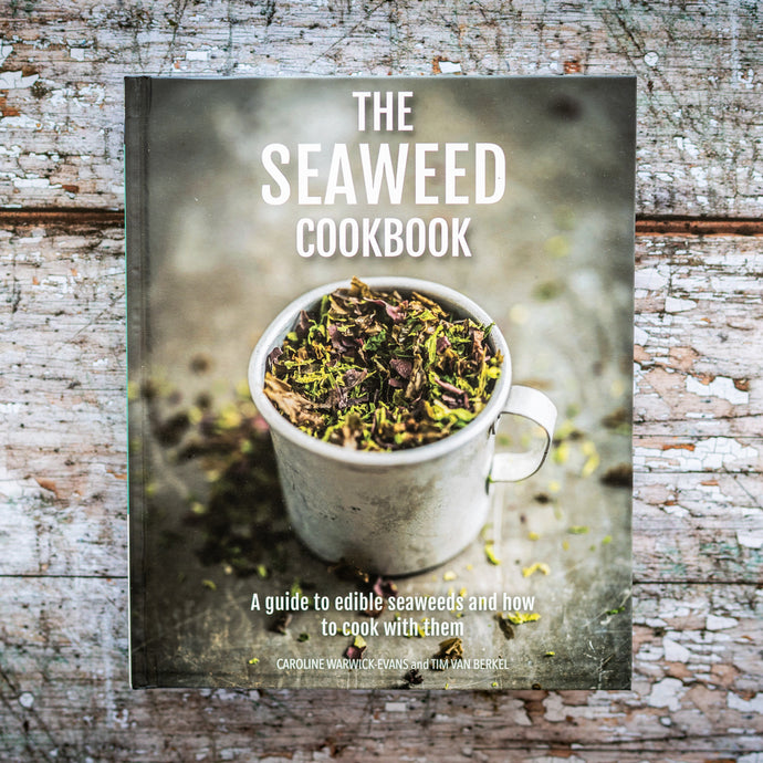 The Seaweed Cookbook-The Cornish Seaweed Company - The St. Ives Co. Cornwall Cornish Souvenir Holiday beach