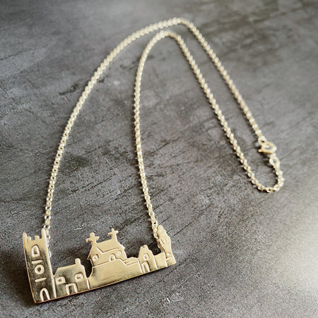 St.Ives Skyline Silver Necklace - The St. Ives Co.