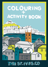 Load image into Gallery viewer, The St. Ives Co. Children's Colouring & activity book - The St. Ives Co. Cornwall Cornish Souvenir Holiday beach