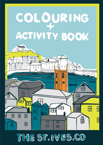 The St. Ives Co. Children's Colouring & activity book - The St. Ives Co. Cornwall Cornish Souvenir Holiday beach