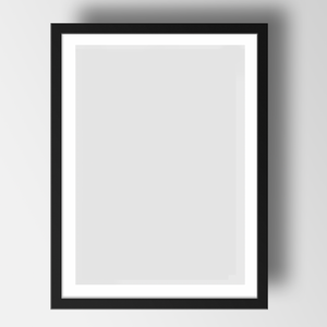 Black Frame for A3 print - The St. Ives Co. Cornwall Cornish Souvenir Holiday beach