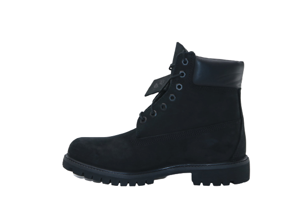 TIMBERLAND PREMIUM 6 IN WATERPROOF BOOT BLACK NUBUCK