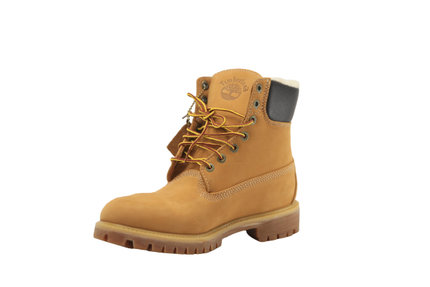 Timberlands: 6 IN PREM FLEECE WHEAT