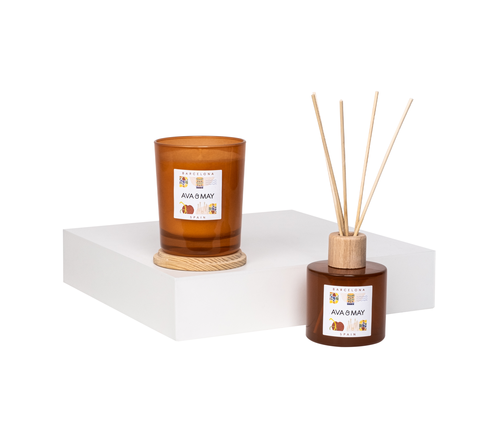 Barcelona Home Fragrance Set