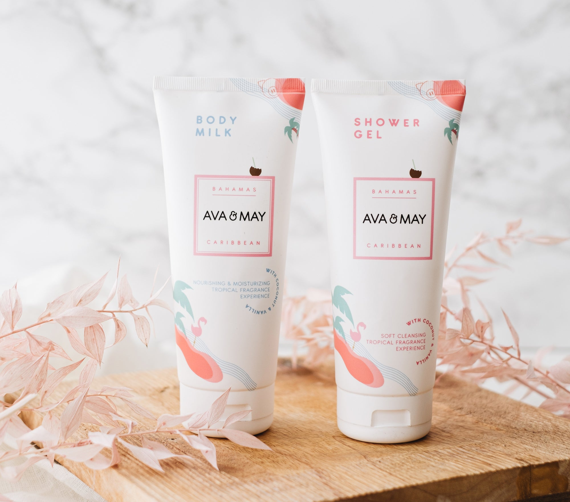 Body Milk & Shower Gel Set