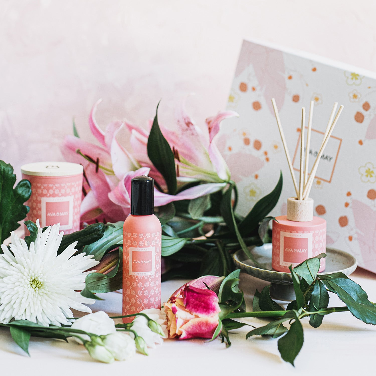 Flora Home Fragrances Collection