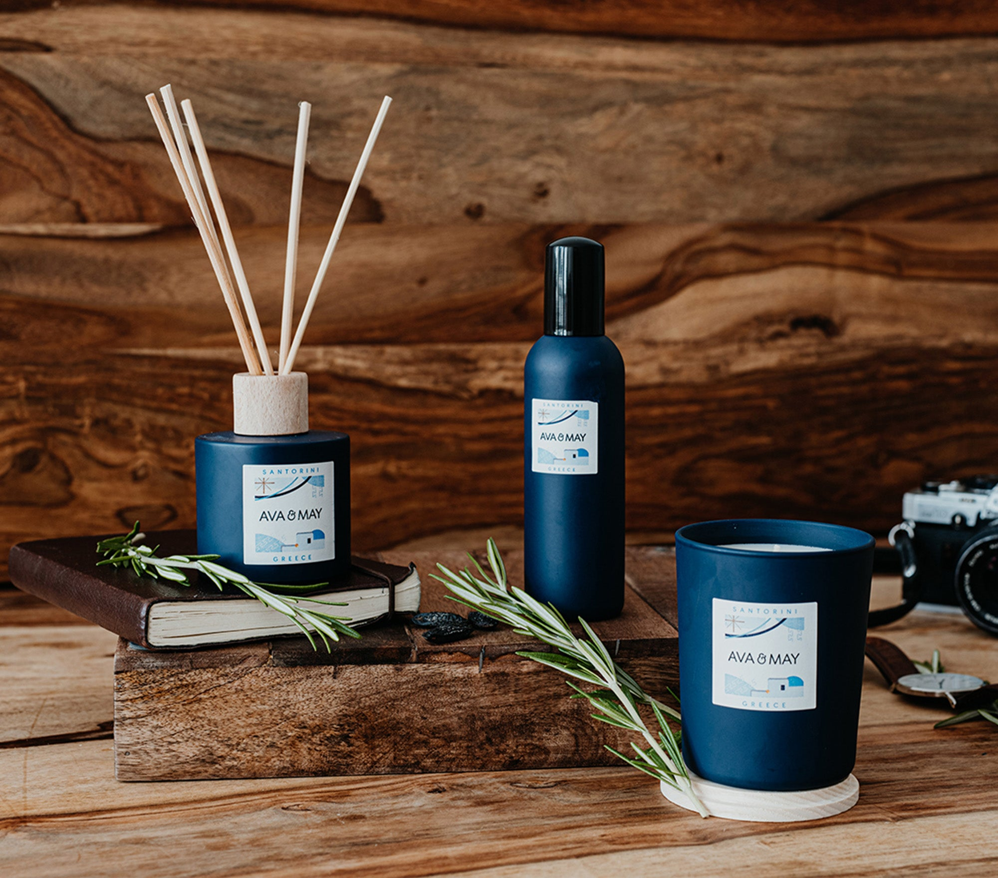 Santorini Home Fragrances Collection