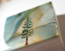 "Load image into Gallery viewer, 4"" Square Tree Block - Solstice - Mini #5"