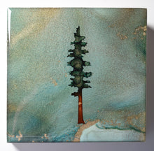 "Load image into Gallery viewer, 4"" Square Tree Block - Solstice - Mini #19"