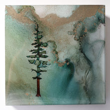 "Load image into Gallery viewer, 4"" Square Tree Block - Solstice - Mini #15"