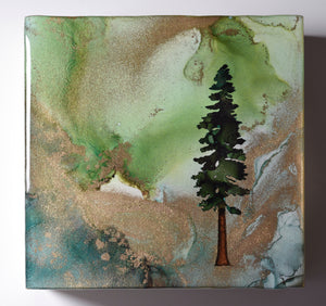 "5"" Square Tree Block - Solstice - Mini+ #13"