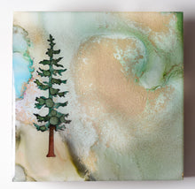 "Load image into Gallery viewer, 4"" Square Tree Block - Solstice - Mini #17"