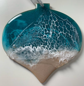 Onion Shape Ocean Ornament
