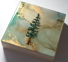 "Load image into Gallery viewer, 5"" Square Tree Block - Solstice - Mini+ #1"