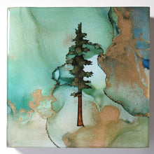 "Load image into Gallery viewer, 5"" Square Tree Block - Solstice - Mini+ #2"