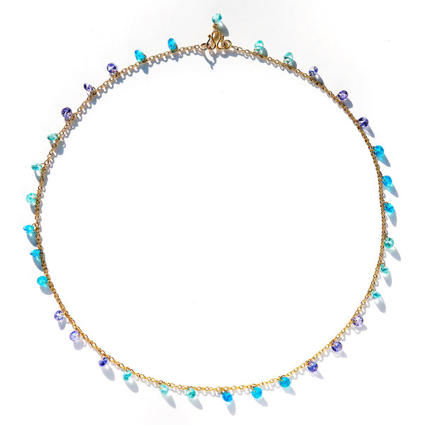 Blue Lagoon Brilliant Necklace