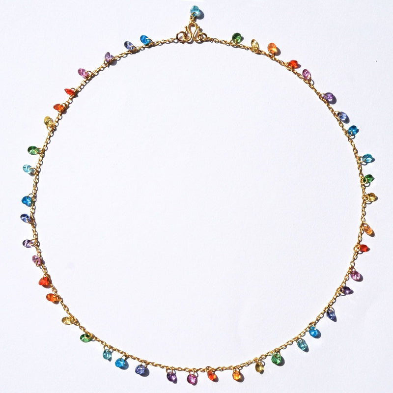 Rainbow Brilliant Necklace