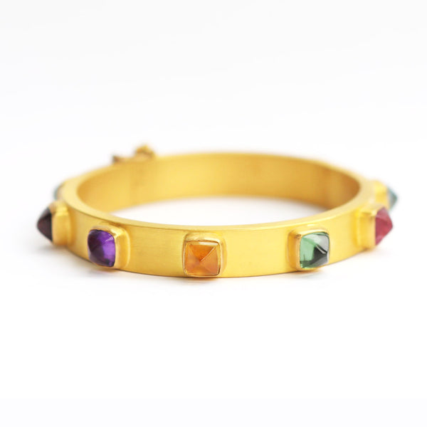Multicolored Sugar Cube Bracelet