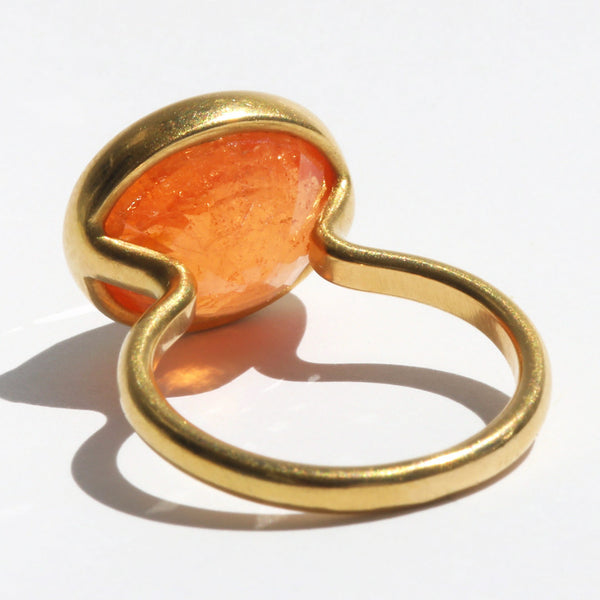 Spessartite Princess Ring