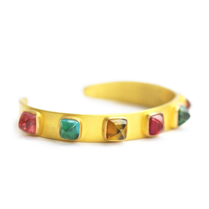 Multi-colored Punky Cuff