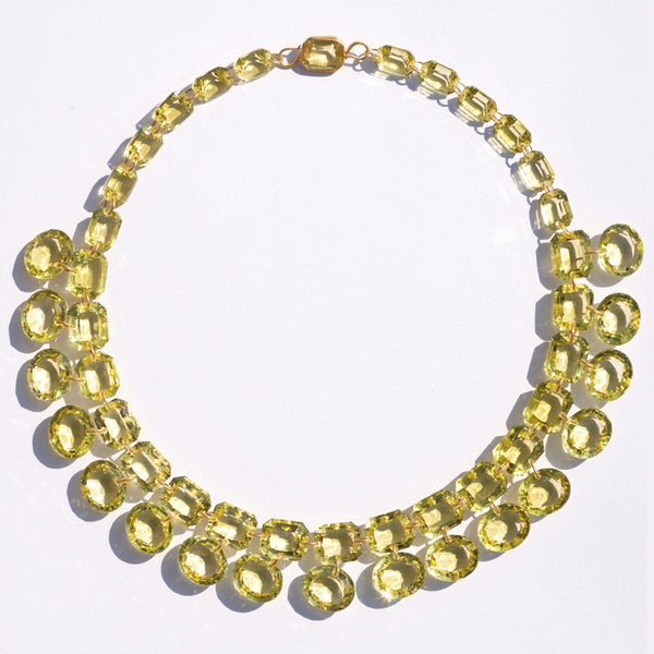 Lemon Quartz La Favorite Necklace