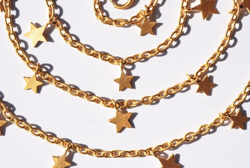 Star Dangling Necklace