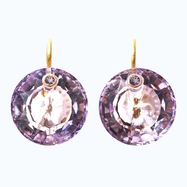 Amethyst Gem Earrings
