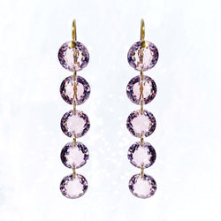 Amethyst Rivières Earrings