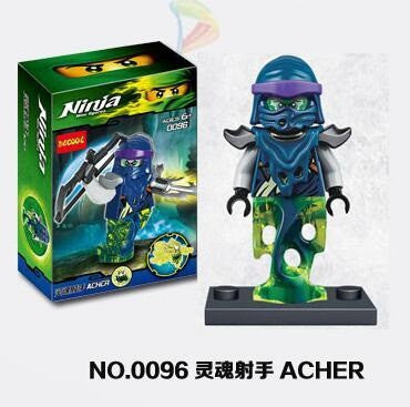 Ninja Acher Mini Figure 0096