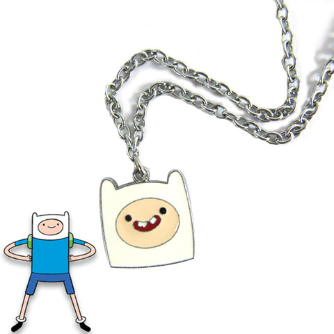 Adventure Time Finn Necklace