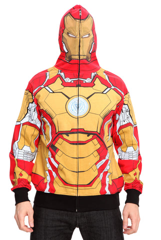 Marvel Iron Man 3 Mark 42 Hoodie