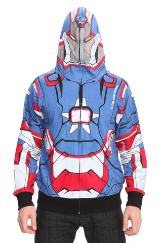 Marvel Iron Man 3 Iron Patriot Hoodie