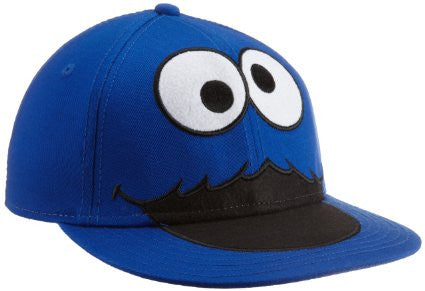 Sesame Street Cookie Monster Boys Adjustable Baseball Cap