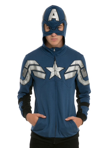 Marvel Captain America Super Soldier Hoodie