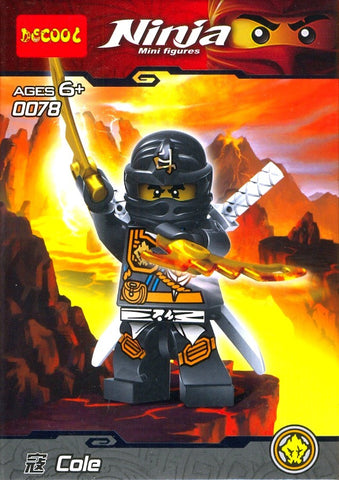 Ninja Cole Mini Figure 0078