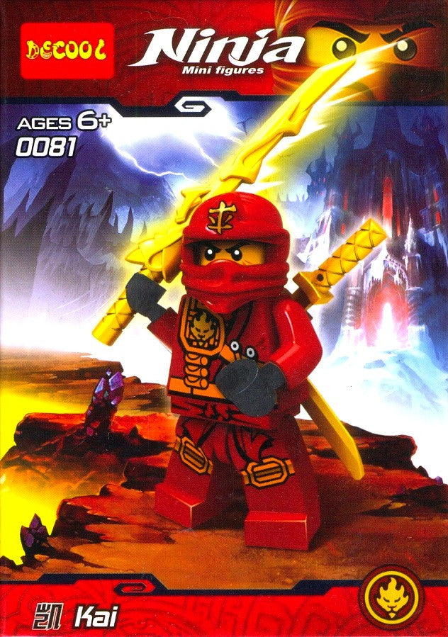Ninja Kai Mini Figure 0081